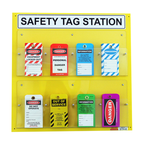 Tag Holder Station