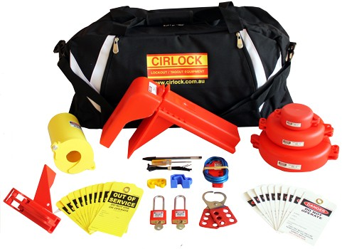 NEW Cirlock Valve Lockout Kit