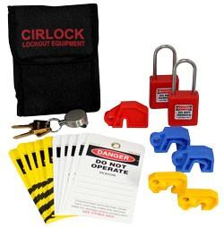 New Belt Lockout Kits from Cirlock