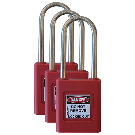 Keyed Alike Padlocks - Registered