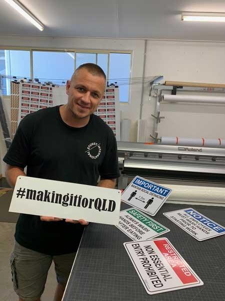 Cirlock supporting #makingitforQLD Campaign